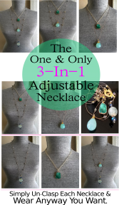 The 3-In-1 Adjustable Necklace